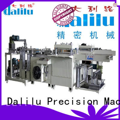 Dalilu efficient material die cutting machine supplier for self-adhesive