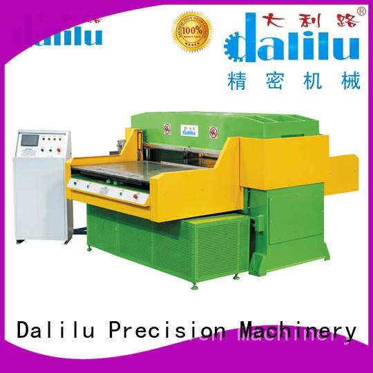 safe plastic die cutting machine dlc8 wholesale for woven bags