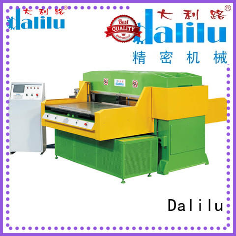 Dalilu efficient rubber cutting machine supplier for plastic lunch boxes