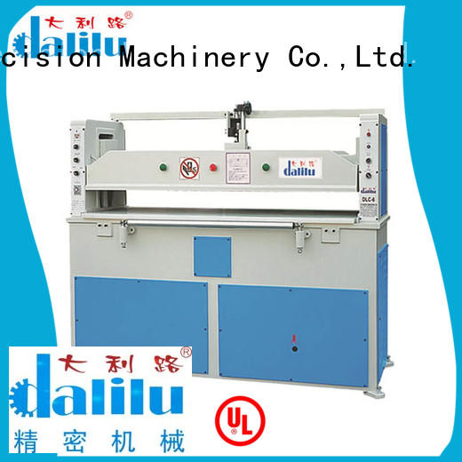 Dalilu swing automatic cloth cutting machine on sale for belts