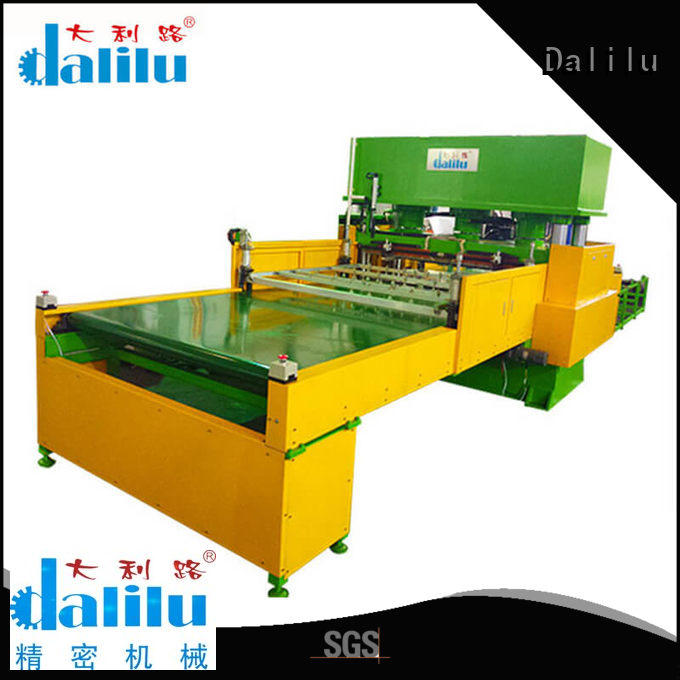 Dalilu customized automatic cloth cutting machine factory price for clothing