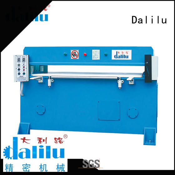 Dalilu hydraulic automatic leather cutting machine on sale for handbags