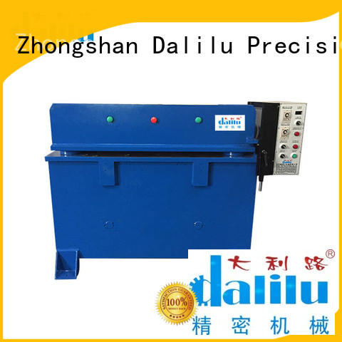 accurate automatic blister packing machine factory for plastic bag Dalilu