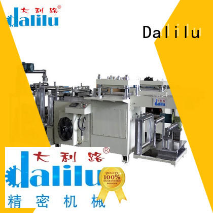 safe hydraulic die press machine die supplier for foil