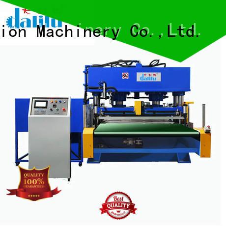 balance four column Dalilu Brand die cut fabric cutter manufacture