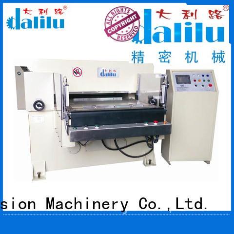 Dalilu precise hydraulic press die cutting machine supplier for protective film