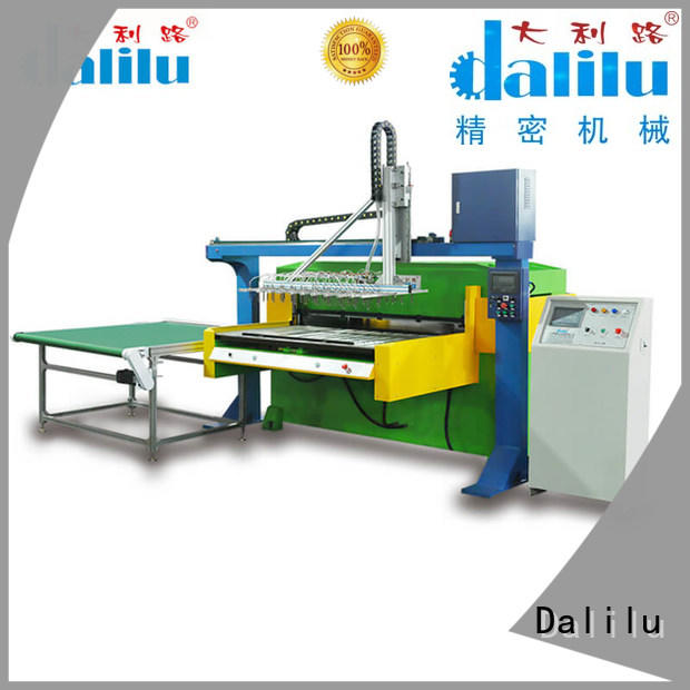 Dalilu hydraulic pvc packing machine with good price for carton