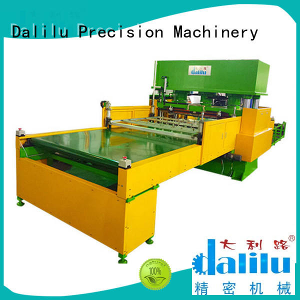 durable custom die cut machine plant design for handbags