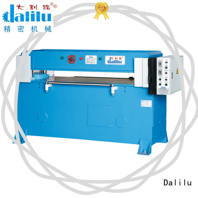 Dalilu dlc8 plastic cutting machine personalized for woven bags