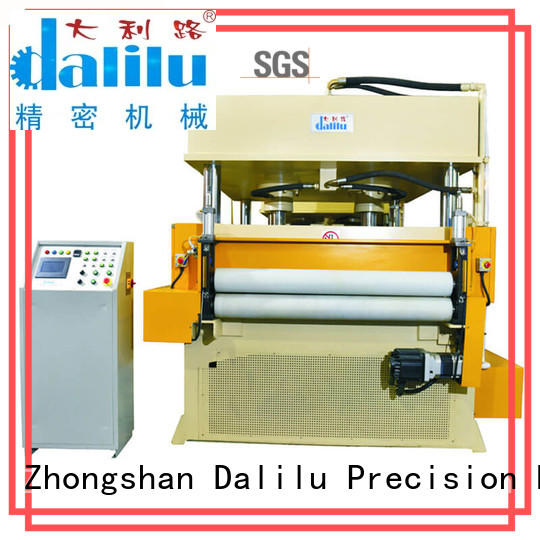 Dalilu long lasting rubber cutting machine factory price for flexible plastic packaging