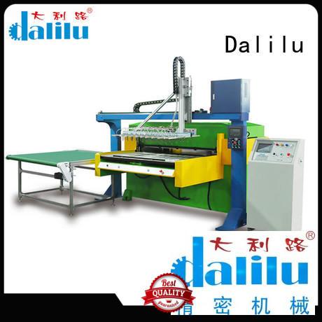 Dalilu cutting automatic die cutter factory for plastic bag