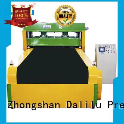 Quality Dalilu Brand foam cutting equipment automatic hydraulic