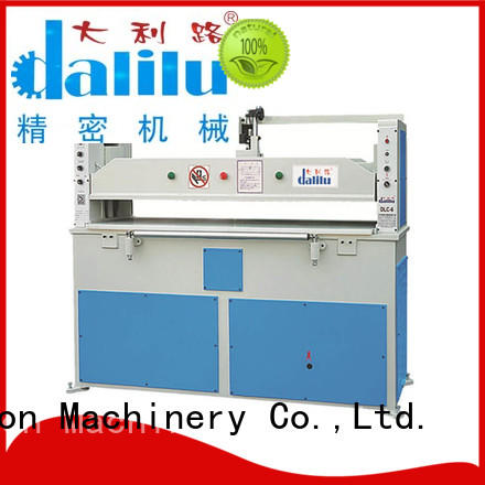 Dalilu technical clicker cutting press plant for handbags