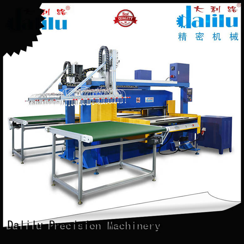 Dalilu reliable foam cutting machine directly price for workshop