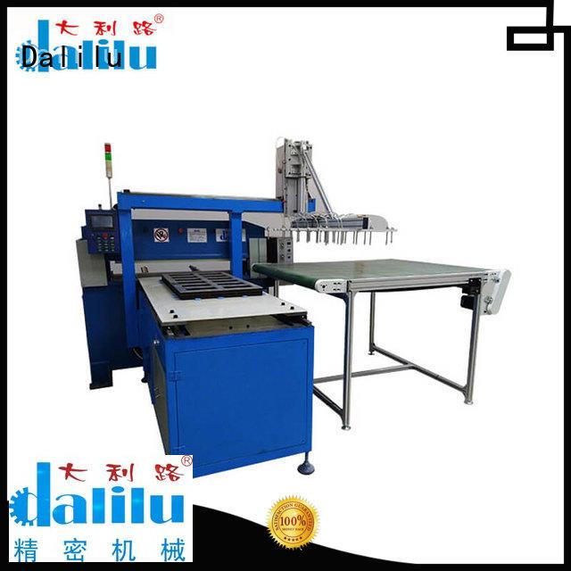 Dalilu customized automatic cloth cutting machine design for belts