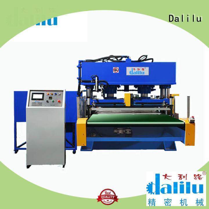 Dalilu cutting large die cutting machine design for shoes