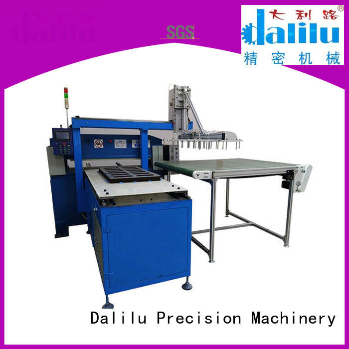 Dalilu customized clicker press die cutting machine supplier for clothing