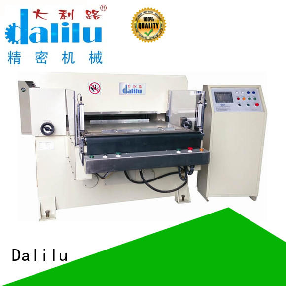 Dalilu automatic hydraulic die press machine on sale for self-adhesive