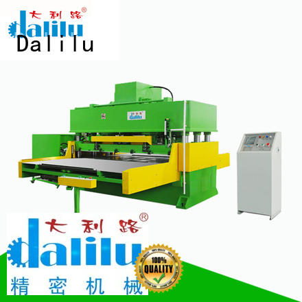 Dalilu dlc8 automatic cutting machine supplier for rubber belt
