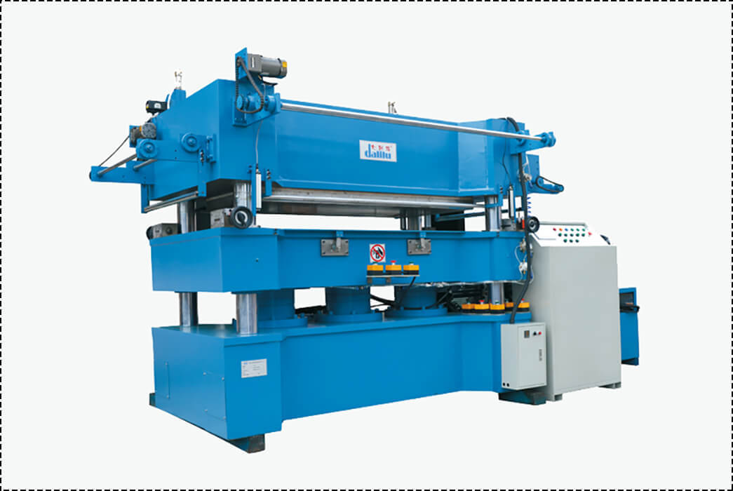 Dalilu unilateral paper stamping machine from China for advertising-1