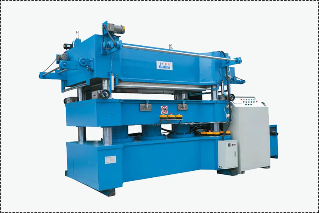 Dalilu hydraulic gilding press machine directly sale for book covers-1