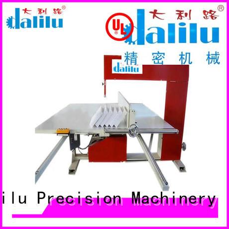 Dalilu good quality epe foam cutting machine directly price for workshop