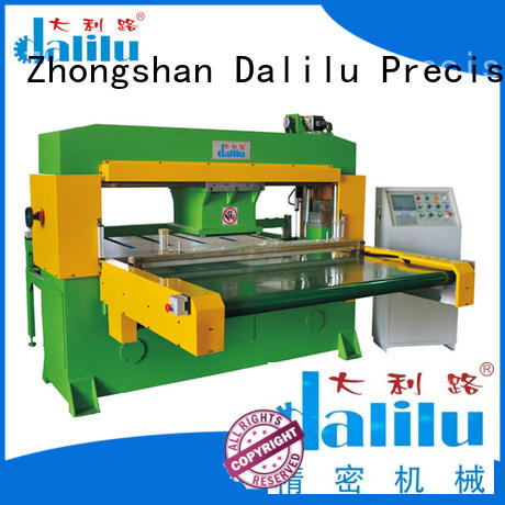 Dalilu realiable industrial cloth cutting machine machine for handbags
