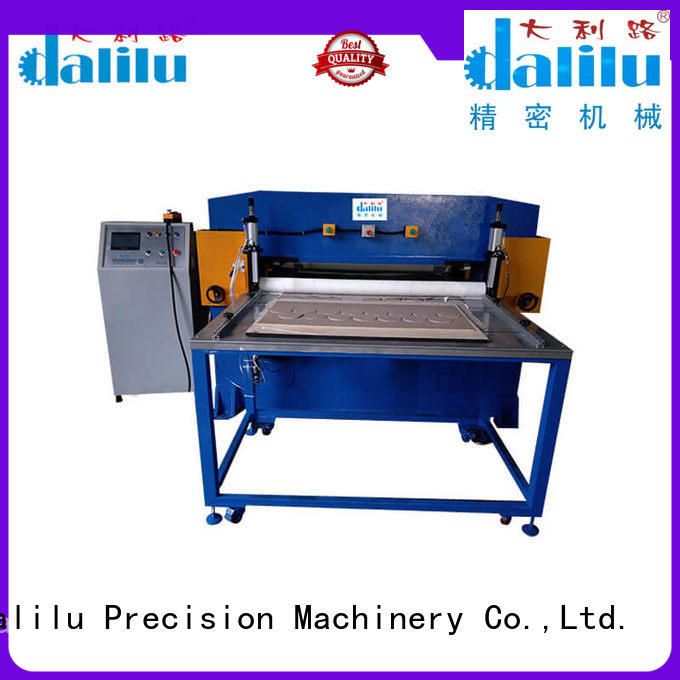 Dalilu cutting sponge cutting machine directly sale for workshop
