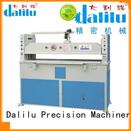 realiable leather cutting machine arm factory price for belts