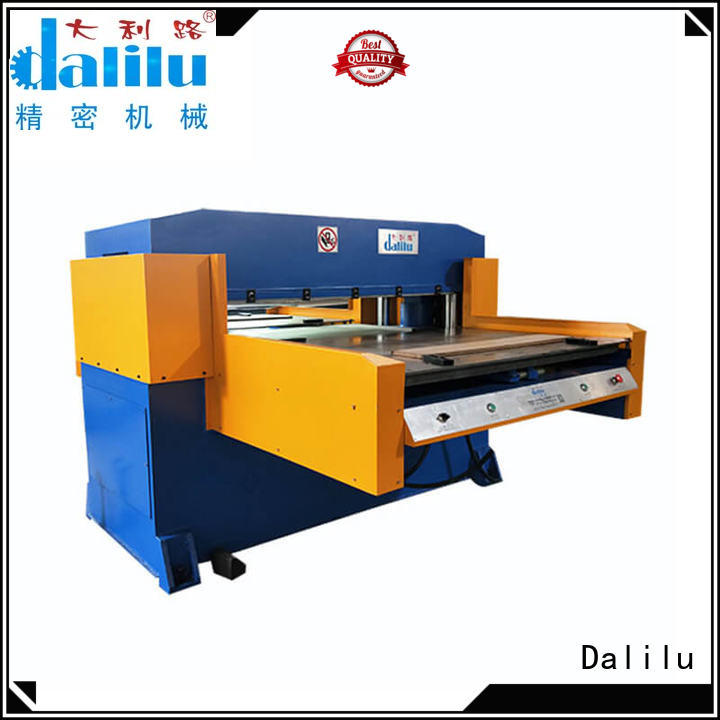 Dalilu cotton automatic die cutting machine supplier for dust cover