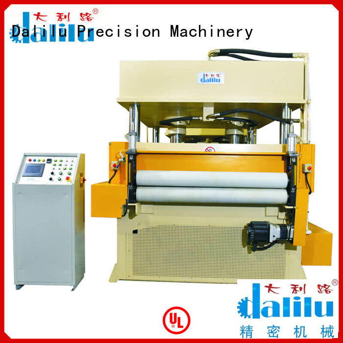 Dalilu precision professional die cut machine personalized for plastic lunch boxes