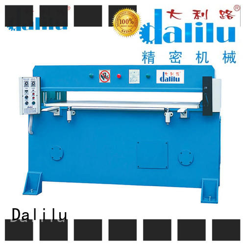Dalilu facial hydraulic leather cutting machine factory price for clothing