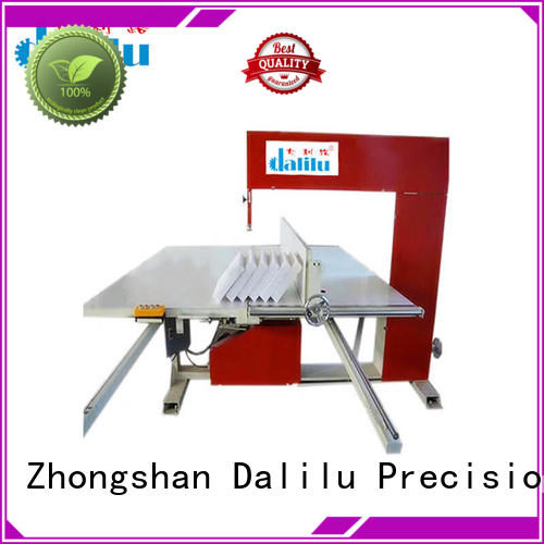 Dalilu sponge industrial cutting machine online for factory
