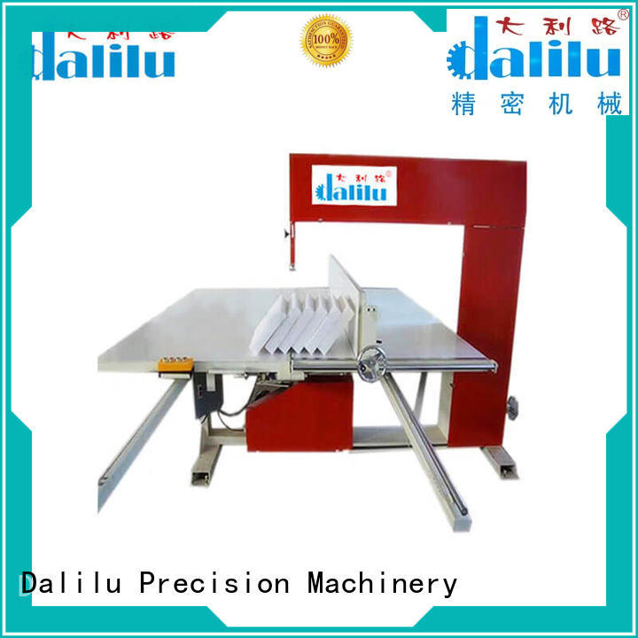 Dalilu dlc8c foam die cutting machine manufacturer for plants