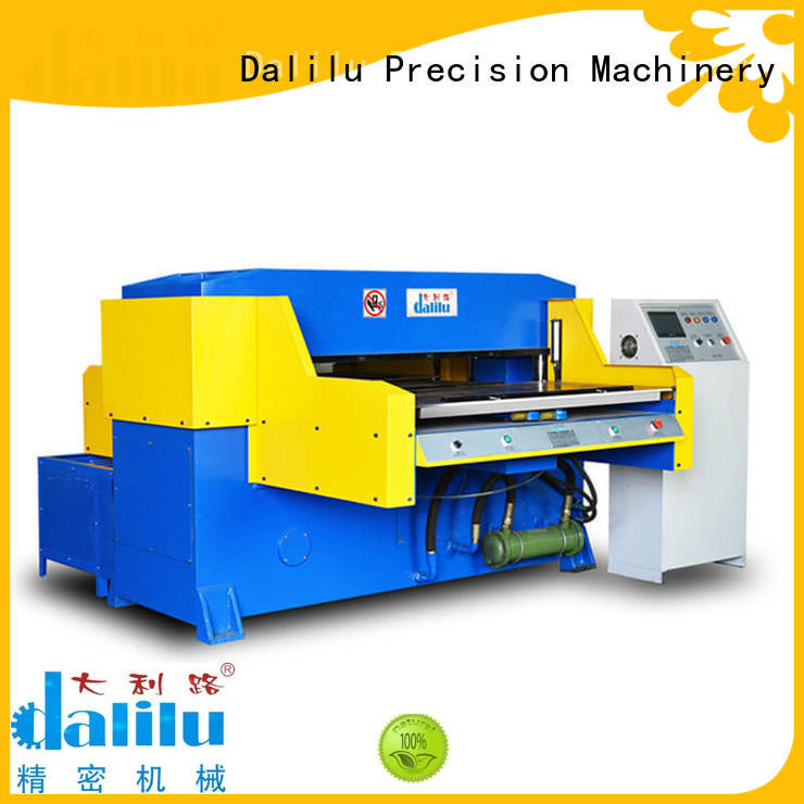 Dalilu precise automatic rubber cutting machine wholesale for plastic bags