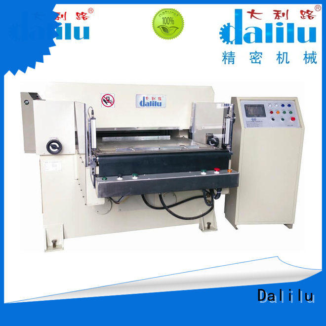Dalilu film material die cutting machine supplier for mobile phone pad