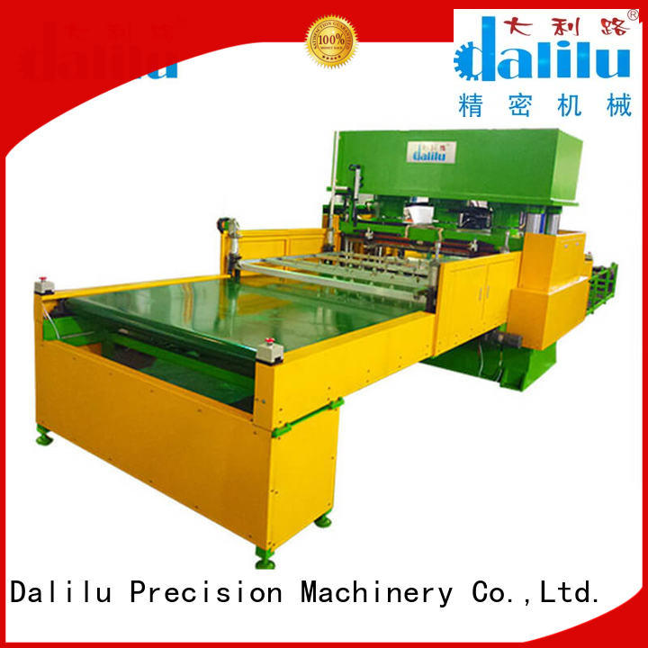 Dalilu technical industrial cloth cutting machine four for wallets