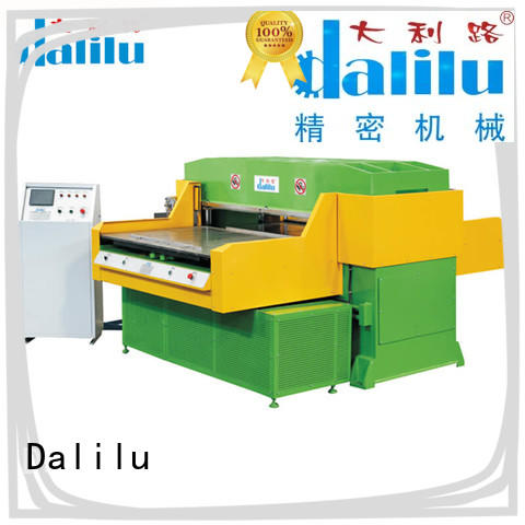 efficient rubber cutting machine feeding supplier for plastic lunch boxes
