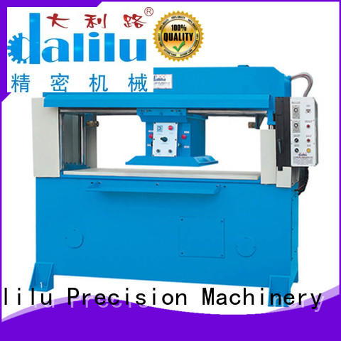 Dalilu safe plastic die cutting machine wholesale for flexible plastic packaging