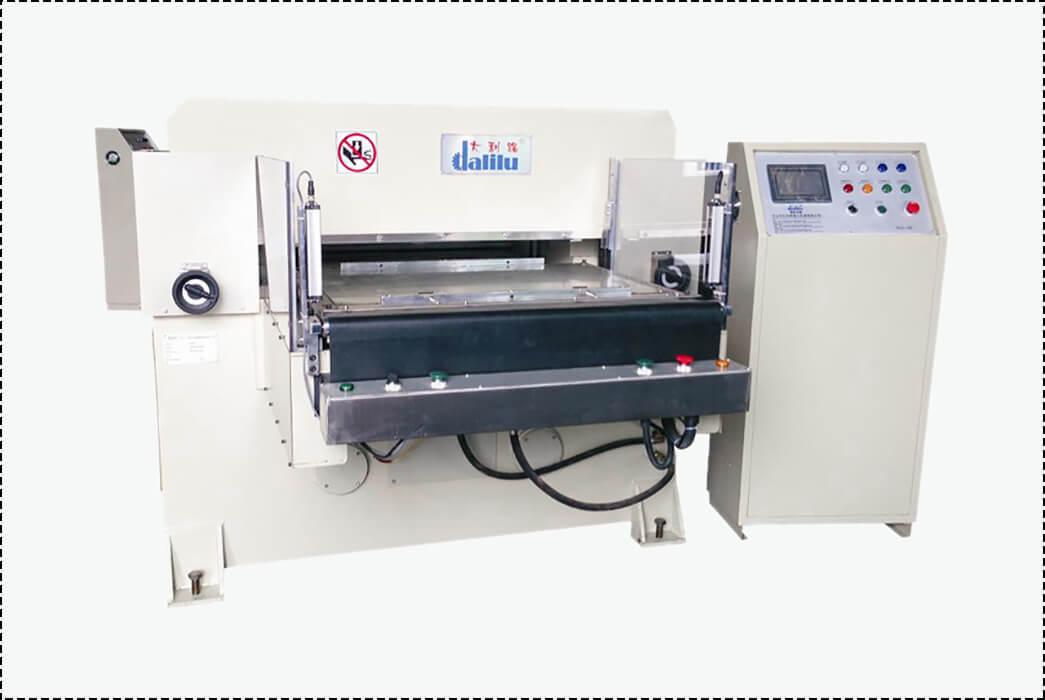 Dalilu-Professional Hydraulic Press Die Cutting Machine For PVC Aluminum