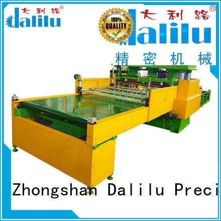 Dalilu realiable cloth cutting machine design for clothing