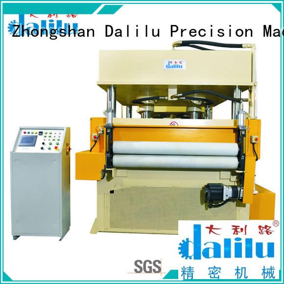 Dalilu hydraulic rubber cutting machine factory price for woven bags