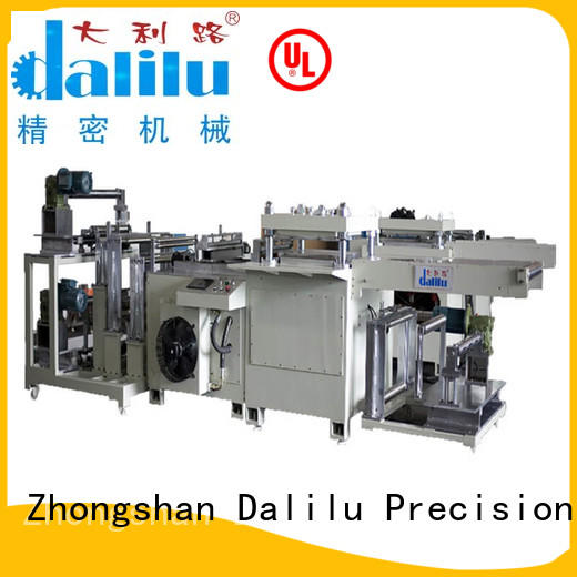 Dalilu safe material die cutting machine supplier for mobile phone pad