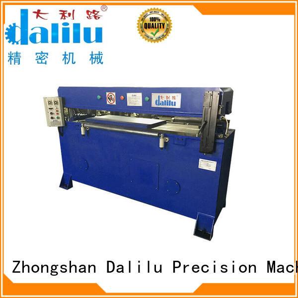 Precision Four Automatic Balance Hydraulic Cutting Machine For Facial Mask DLC-5
