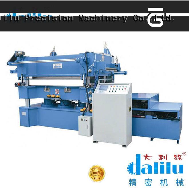 Dalilu paper gilding press machine from China for trademark