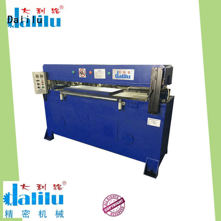 Dalilu realiable automatic leather cutting machine design for belts