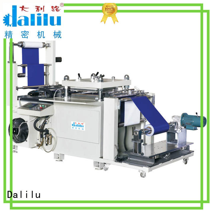 Dalilu precise automatic rubber cutting machine wholesale for plastic lunch boxes