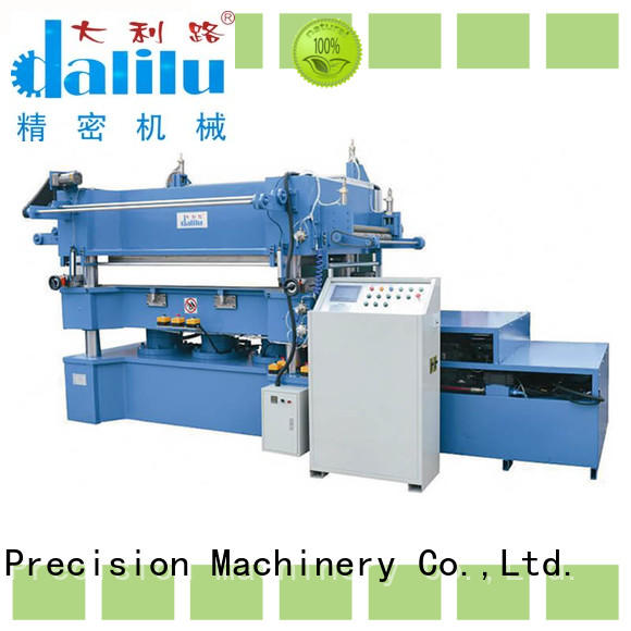 Dalilu high quality paper stamping machine directly sale for advertising