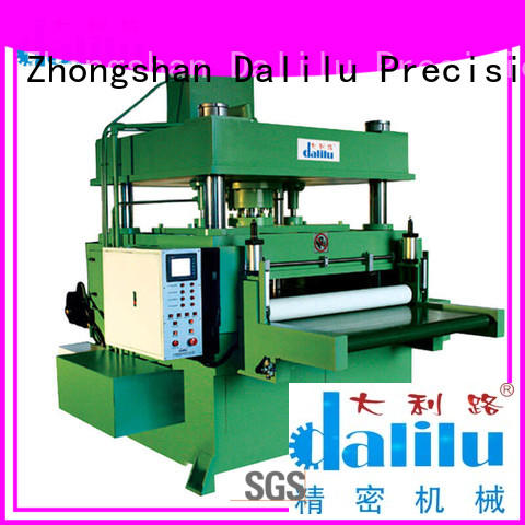 Dalilu interior car leather cutting machine supplier for dust cover