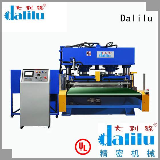 Dalilu dalilu clicker press die cutting machine factory price for handbags